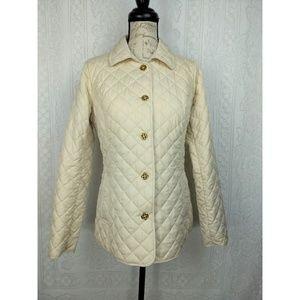 C Wonder Beige Gold Lightweight Jacket Size XS
